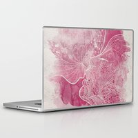 kiss Laptop & iPad Skins featuring KISS  by Marica Zottino