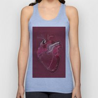 Digital Heart Unisex Tank Top