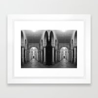 Corridors Of Confusion Framed Art Print