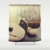 And I Thought I'd Live F… Shower Curtain
