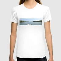 The Fisherman Estuary Womens Fitted Tee White SMALL