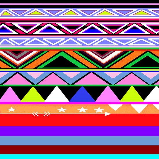 colored Art Print