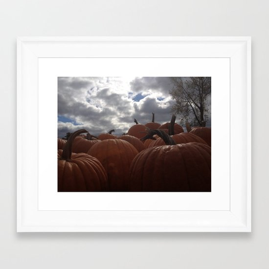 Haunting Season Framed Art Print