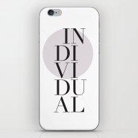 Individual iPhone & iPod Skin