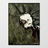 Zombie Reign Canvas Print
