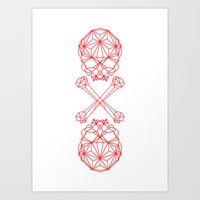 RedSkull Art Print