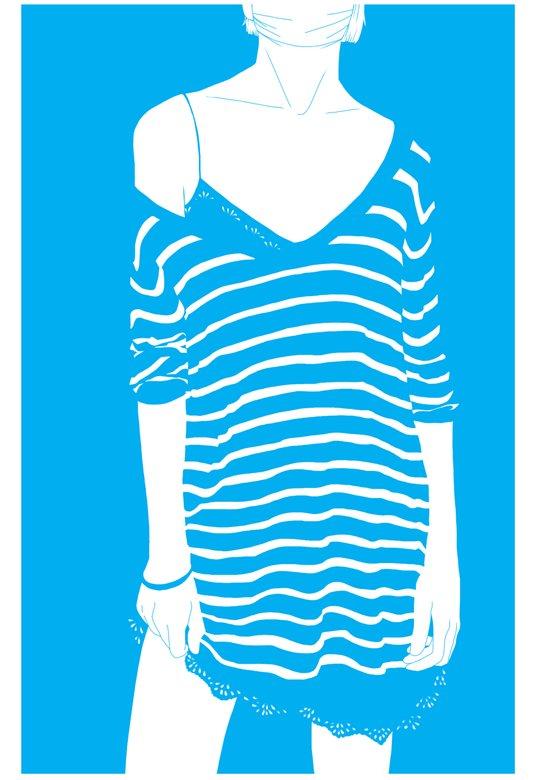 Stripes 01 Art Print