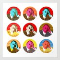 Rachmaninov rounds Art Print