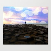 Causeway Dreamer Canvas Print