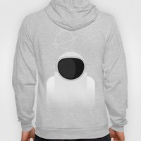 Astronaut is listening music Hoody