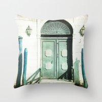 The Door - Venice Throw Pillow