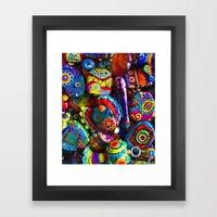 GlassART by me Framed Art Print