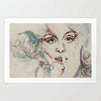 Poseidon's Lover Art Print