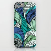iPhone & iPod Case featuring Striped_Feather_Cool by Crystal ★ Walen