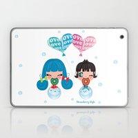 Love Bubbles Laptop & iPad Skin