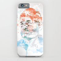 bill murray iPhone & iPod Cases featuring Bill Murray by I AM DIMITRI