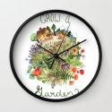 Grow A Garden Wall Clock