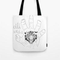 Wild hands Tote Bag