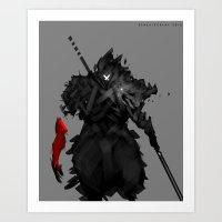 Assassin X Art Print