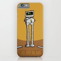 iPhone & iPod Case featuring I will never hug again by Monkey Chow