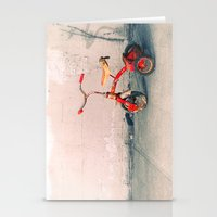 Childs Vintage Tricycle Stationery Cards