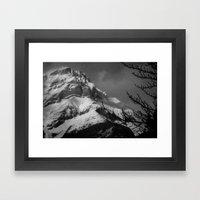 Ol' Smokey Framed Art Print