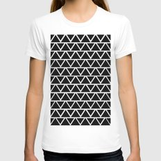 Cross Womens Fitted Tee White SMALL