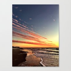 Cloud Spears Canvas Print
