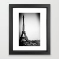 Paris'2 Framed Art Print