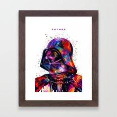 Father White Framed Art Print