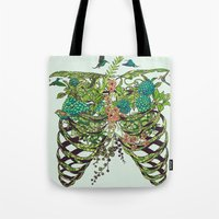 Tote Bag featuring Daydreamer by Huebucket