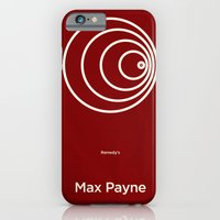 iPhone & iPod Case featuring Remedy's Max Payne by Lechaftois Boris (LBö)