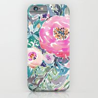 Wild Peony Floral iPhone 6 Slim Case