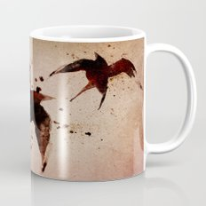 On your fears,  ... swallow them.   Mug