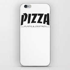 Thrash WHT iPhone & iPod Skin