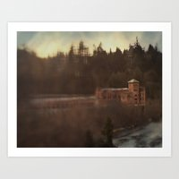 Old brewhouse Art Print