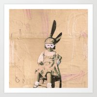 Imaginary Friends- Magic… Art Print