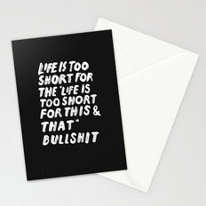 TOO SHORT FOR ANYTHING Stationery Cards