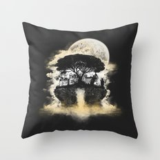 Spring of Life Throw Pillow