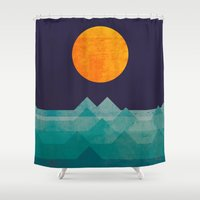 The Ocean, The Sea, The … Shower Curtain