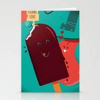 :::Licking Love::: Stationery Cards