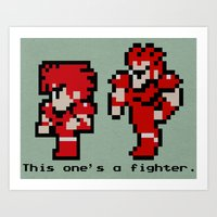 This One's A Fighter Art Print