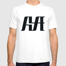 Hype SMALL Mens Fitted Tee White