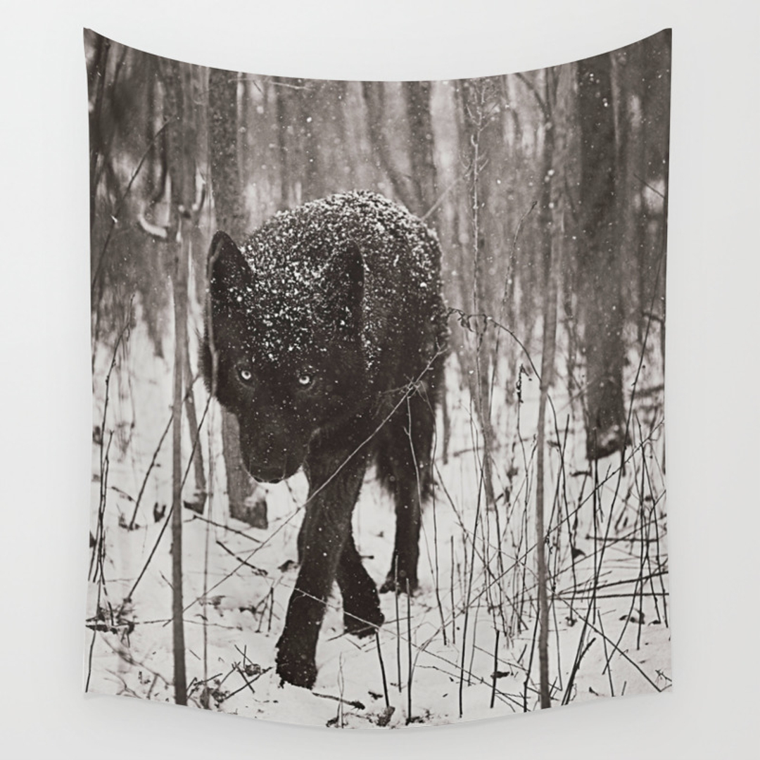 Popular Wall Tapestries In Black White Society6