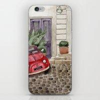 Red Beetle Car iPhone & iPod Skin