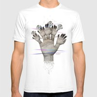 Elementum Mens Fitted Tee White SMALL