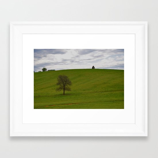 Big Empty Framed Art Print