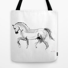Horse (dressage) Tote Bag