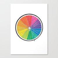 Color Wheel (Society6 Edition) Canvas Print