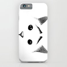 Cat with eyebrows Slim Case iPhone 6s
